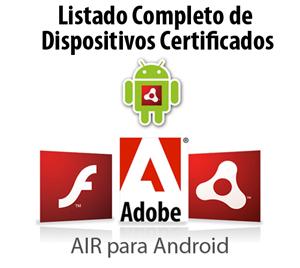 Listado completo de Dispositivos Certificados