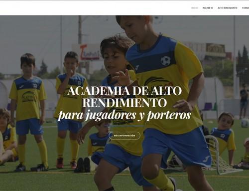 Hemos finalizado la actualización de la nueva Web de la Academia Player10